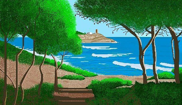 Concha Garcia Zaera Paint Art