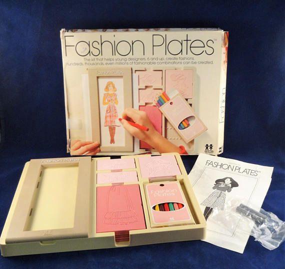 80s Fashion Plates