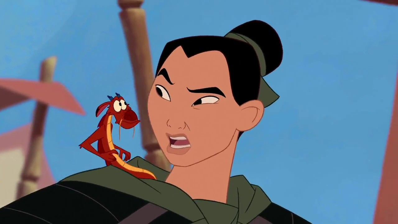 Disney's Mulan Cartoon