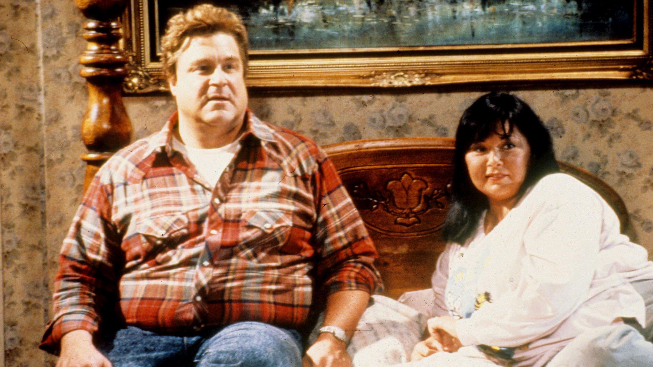 John Goodman Roseanne Barr