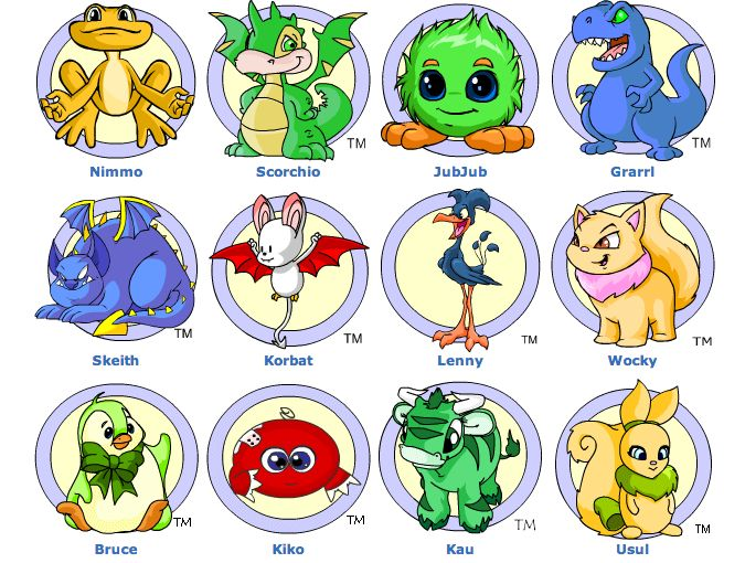 Neopets species