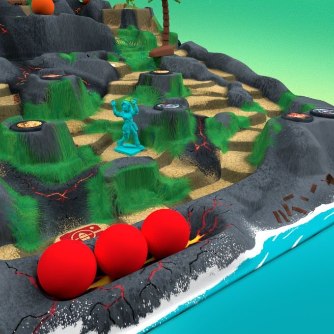 Fireball Island Kickstarter