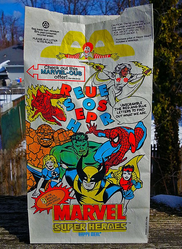 McDonald's Happy Meal Bag 1996