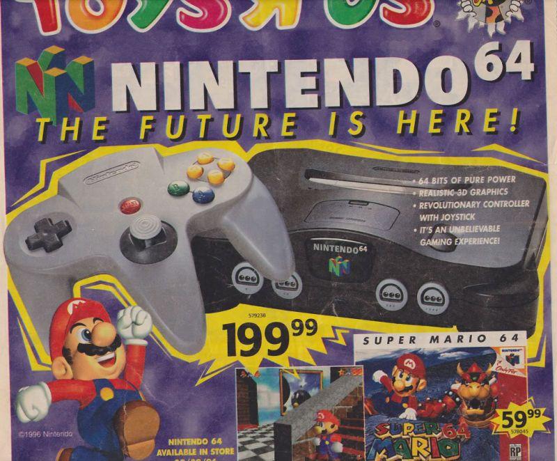 Toys R Us N64