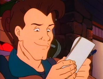 The Real Ghostbusters Venkman