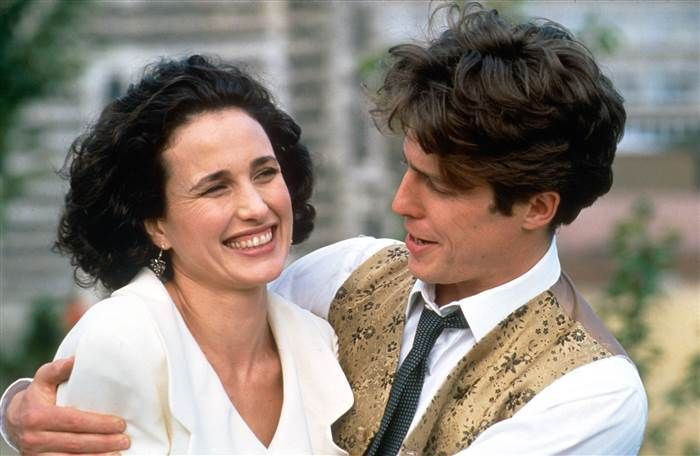 Andie MacDowell Four Weddings and a Funeral