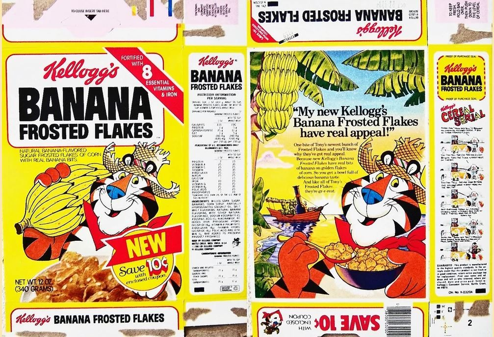 Frosted Flakes Banana
