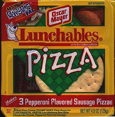 Lunchables Pizza