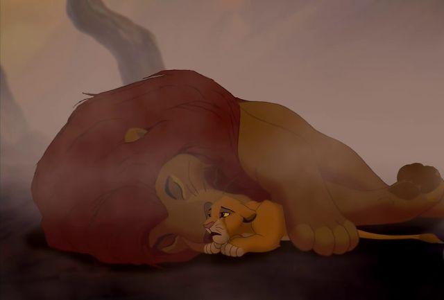 Mufasa death scene