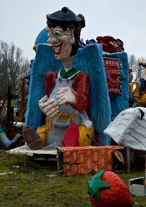 Abandoned Carnaval Graveyard Holland