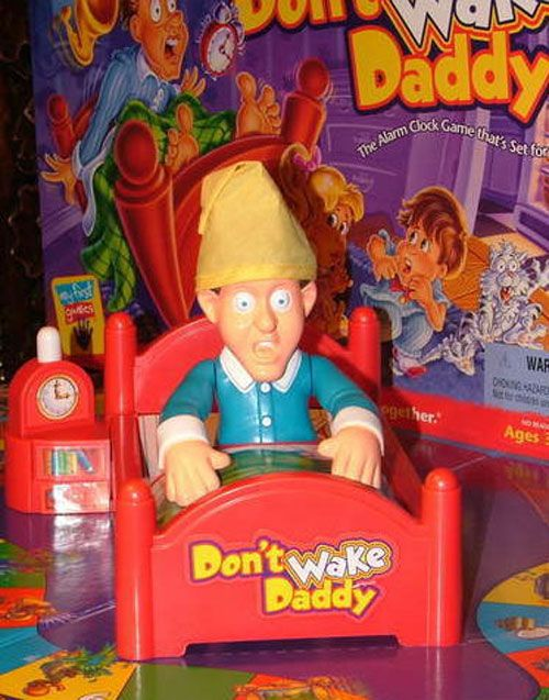 Don't Wake Daddy Board Game