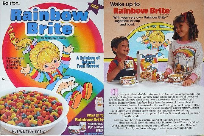 Rainbow Brite cereal
