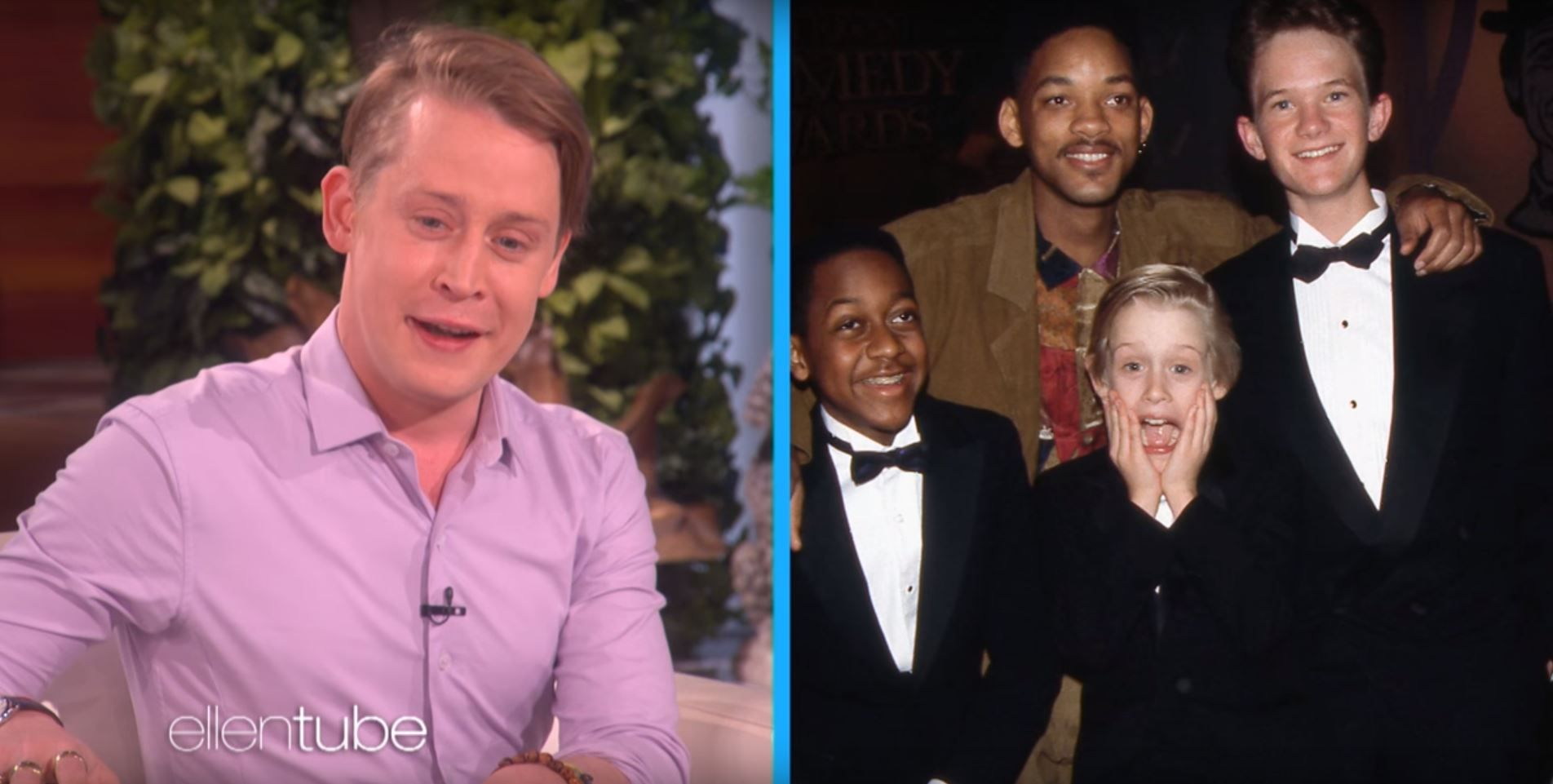Macaulay Culkin on Ellen