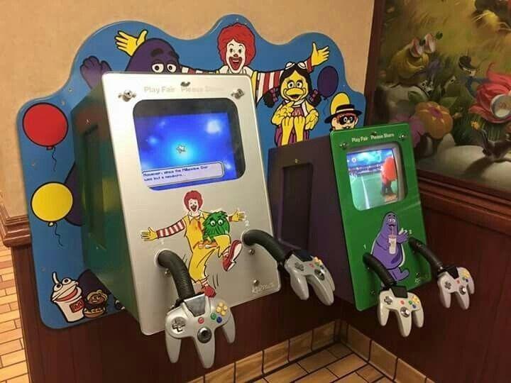 McDonald's Nintendo 64 Kiosk