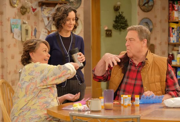 Roseanne, Dan, and Darlene Conner