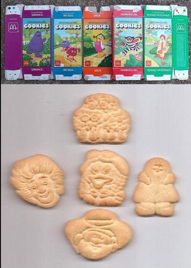 MacDonald's Mcdonaldland Cookies