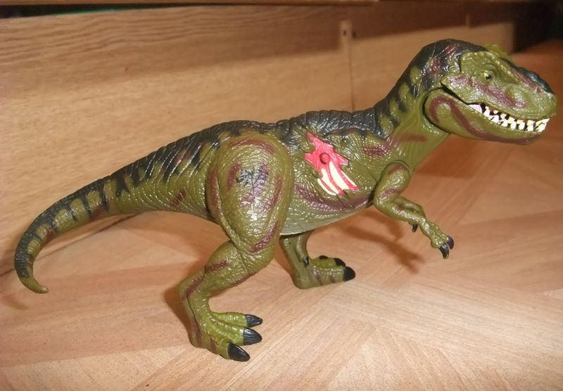 Trex Toy from Jurassic Park