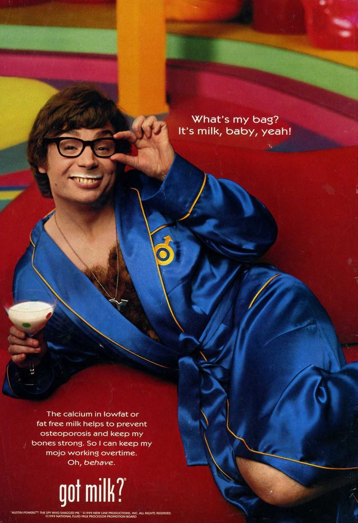 Got Milk Austin Powers