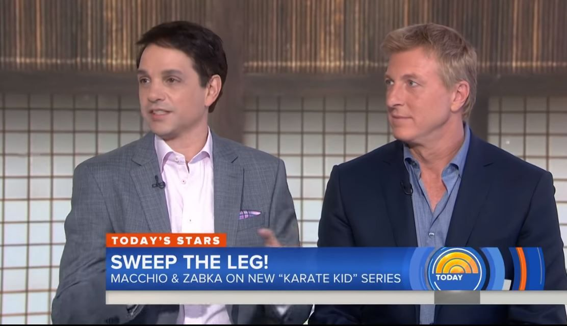 Cobra Kai cast Today Show