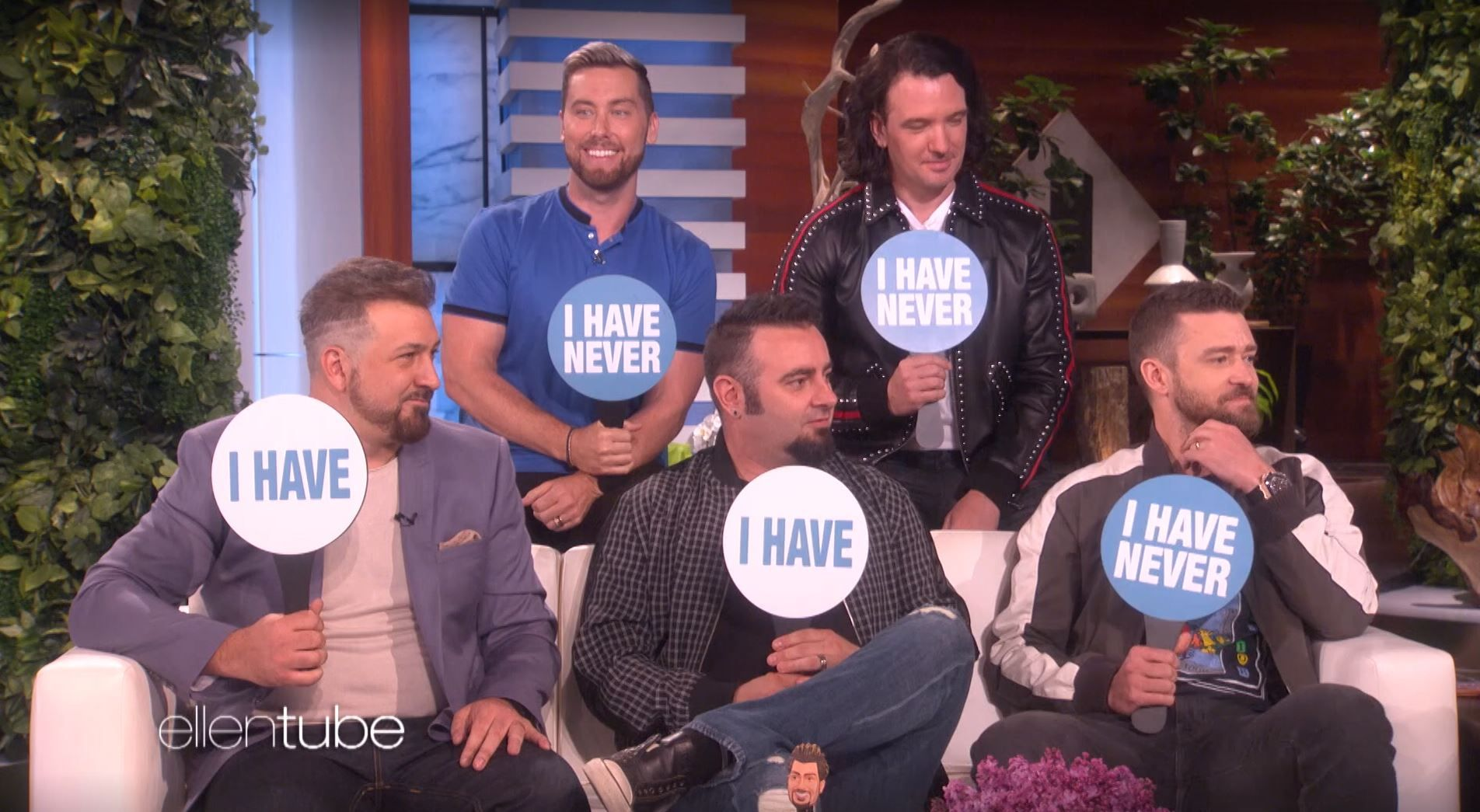 NSYNC on Ellen