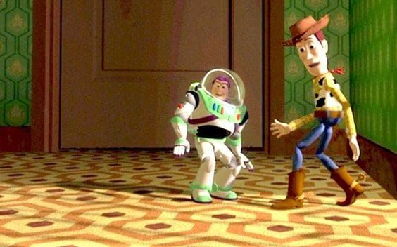 Toy Story Sid's carpet