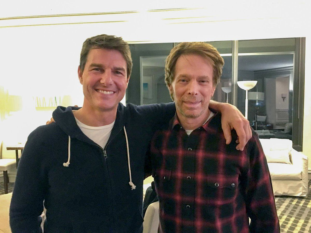 Jerry Bruckheimer and Tom Cruise