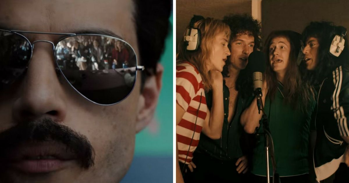956c1f841f104 The Queen Movie 'Bohemian Rhapsody' Just Realized Then First Trailer