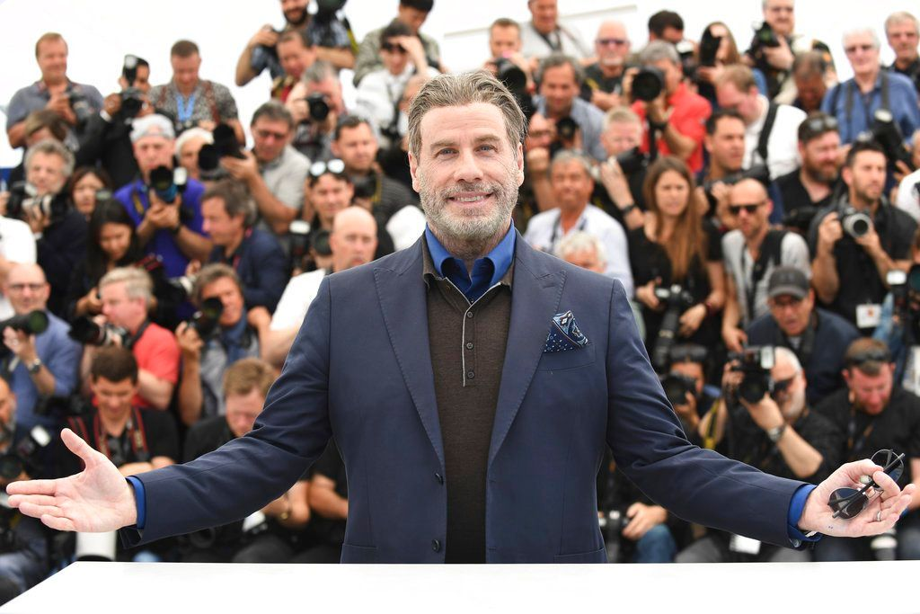 John Travolta Cannes 2018