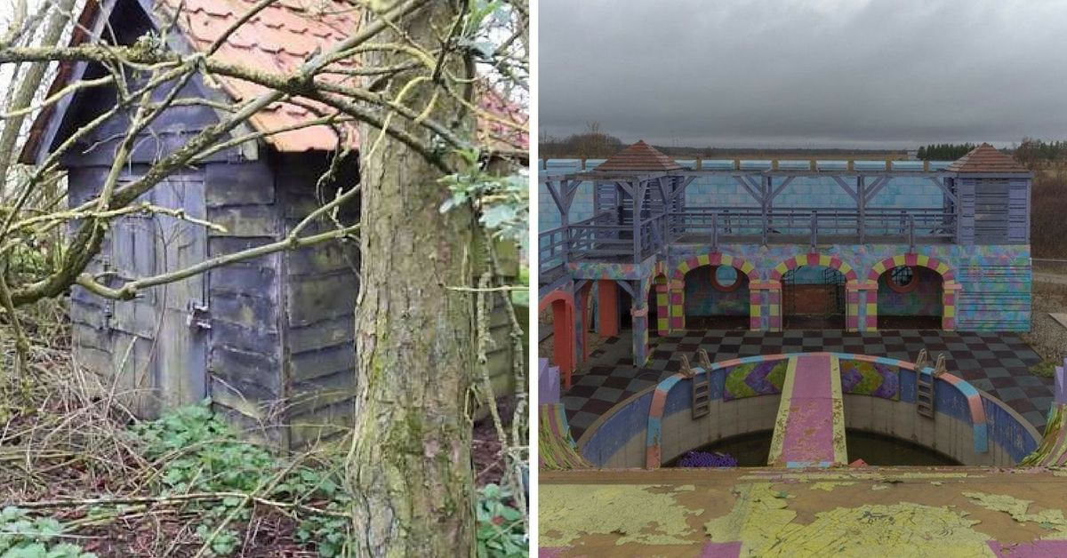 The Abandoned Sets Of Kids Shows Look Completely Haunted Now