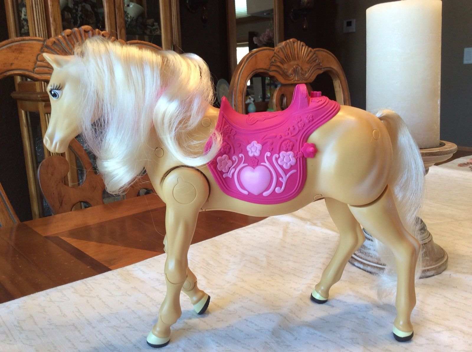 Barbie Walking Horse