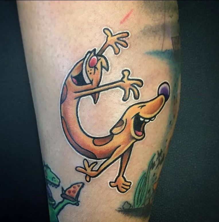 CatDog Tattoo