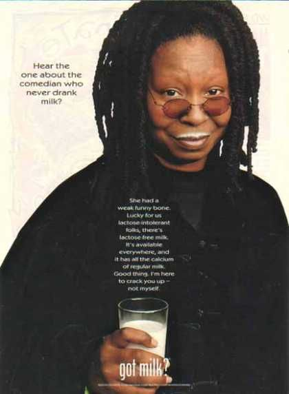 Got Milk Whoopi Goldberg