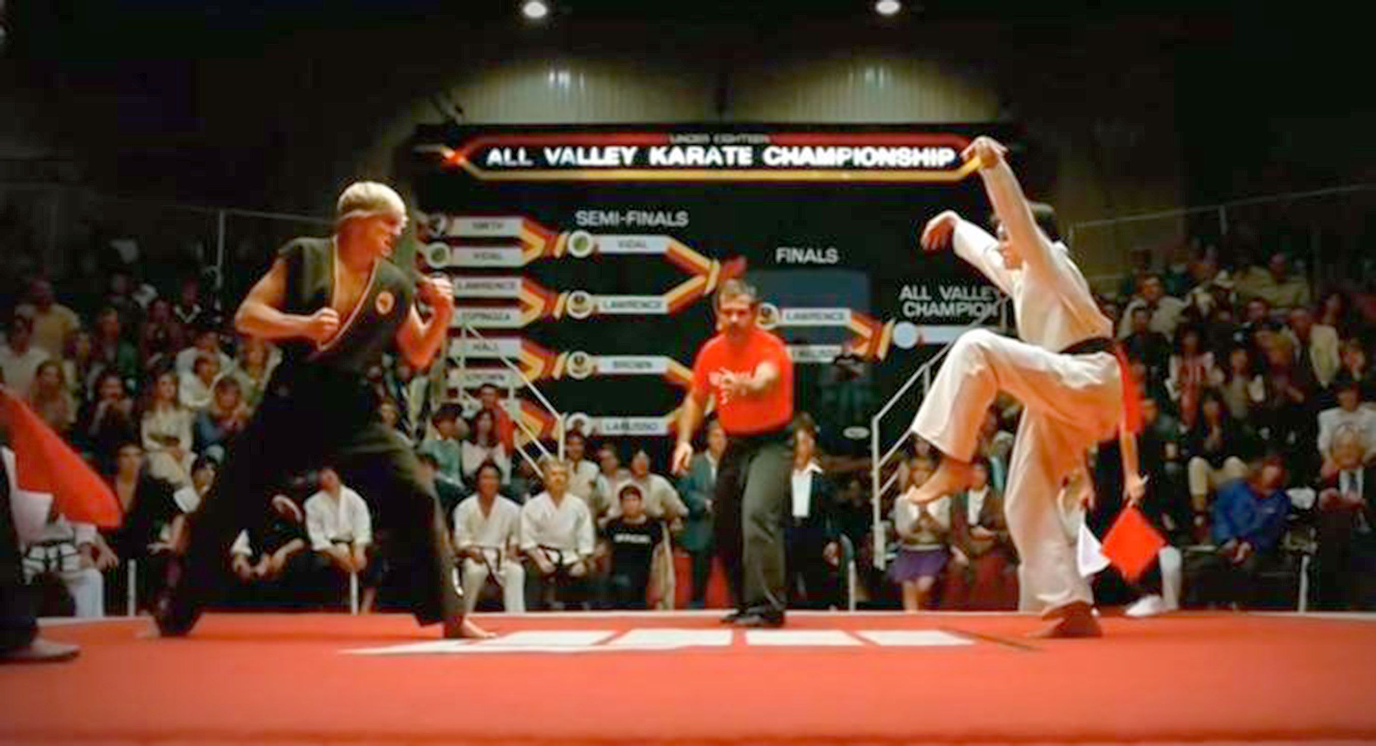 Karate Kid Cobra Kick
