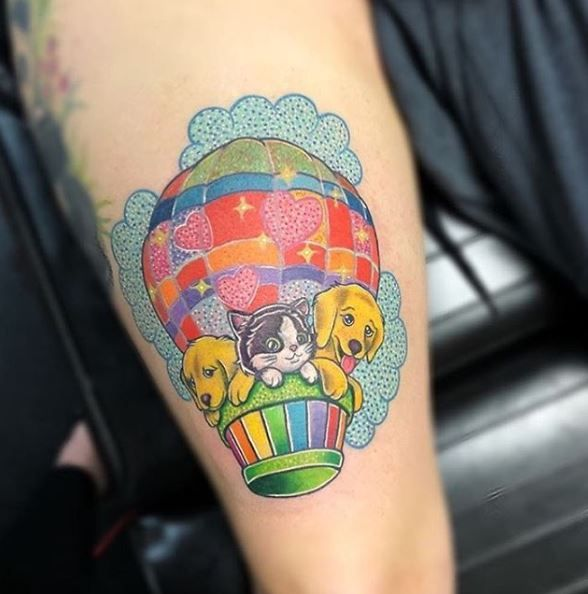 Lisa Frank Tattoo