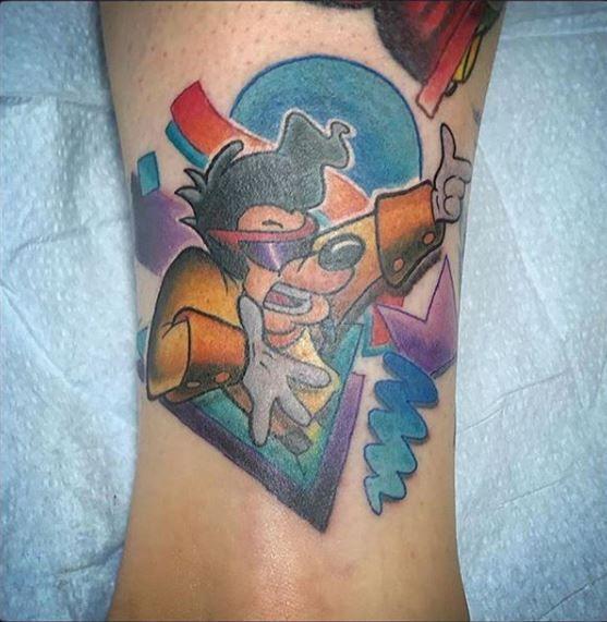 Max tattoo