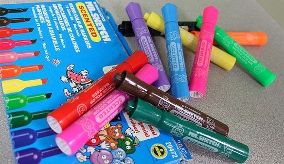 Scented Markers Mr. Sketch