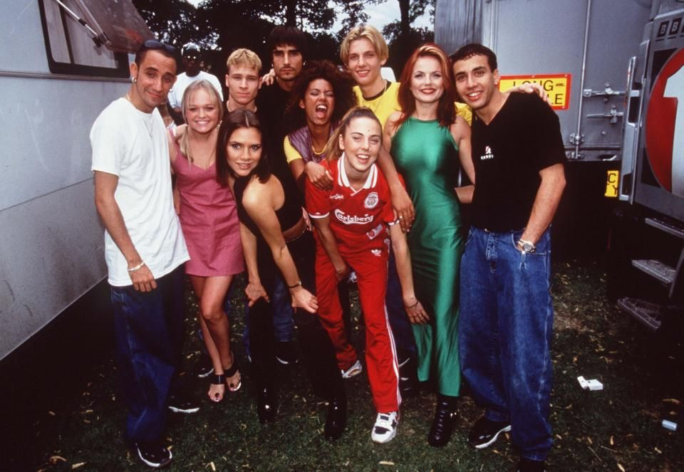 Spice Girls and Backstreet Boys