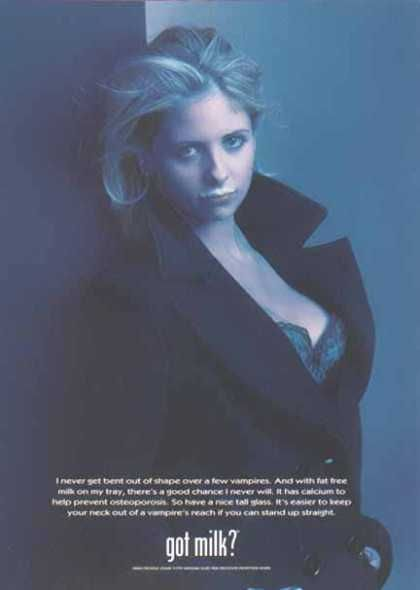 Got Milk Sarah Michelle Gellar