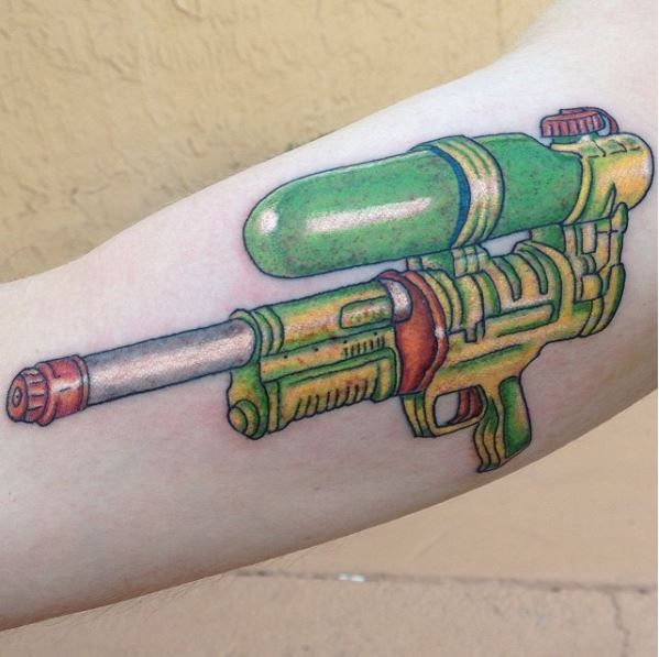 Super Soaker Tattoo