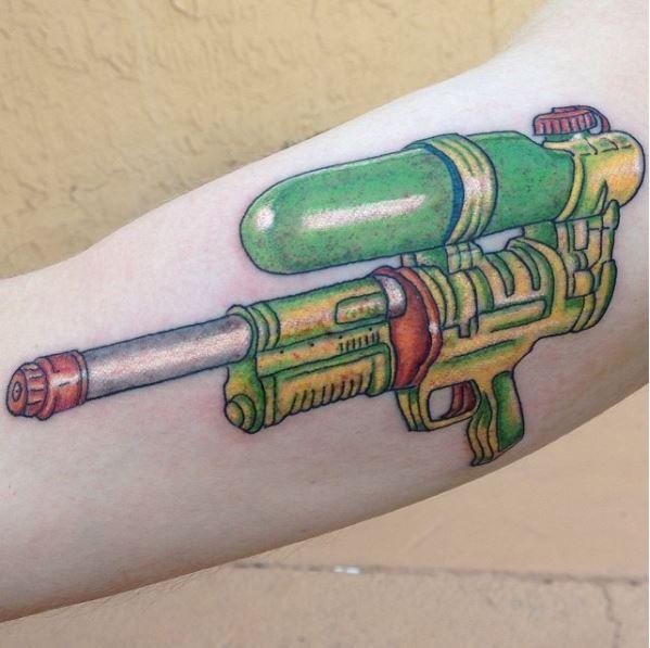 Super Soaker Tattoo