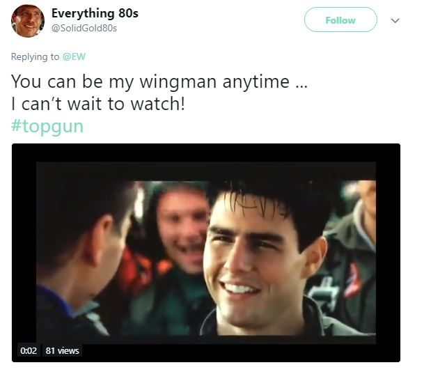 Top Gun Tweets