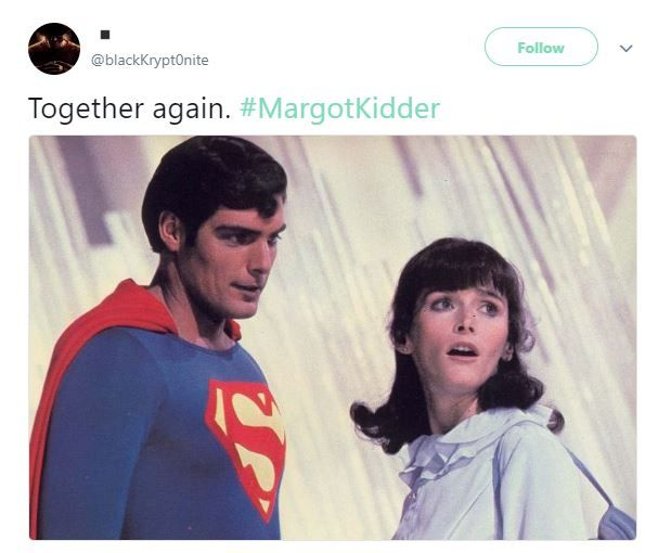 Margot Kidder Twitter