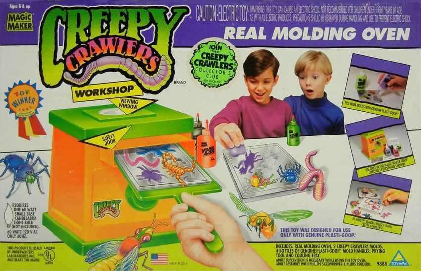 Creepy Crawlers 90s