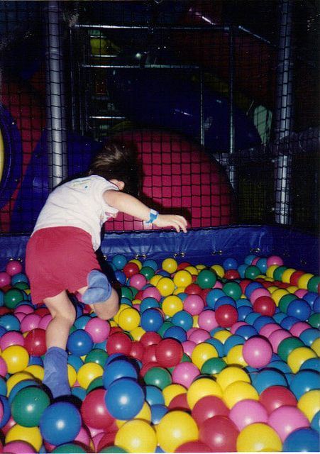 Discovery Zone Ball Pit