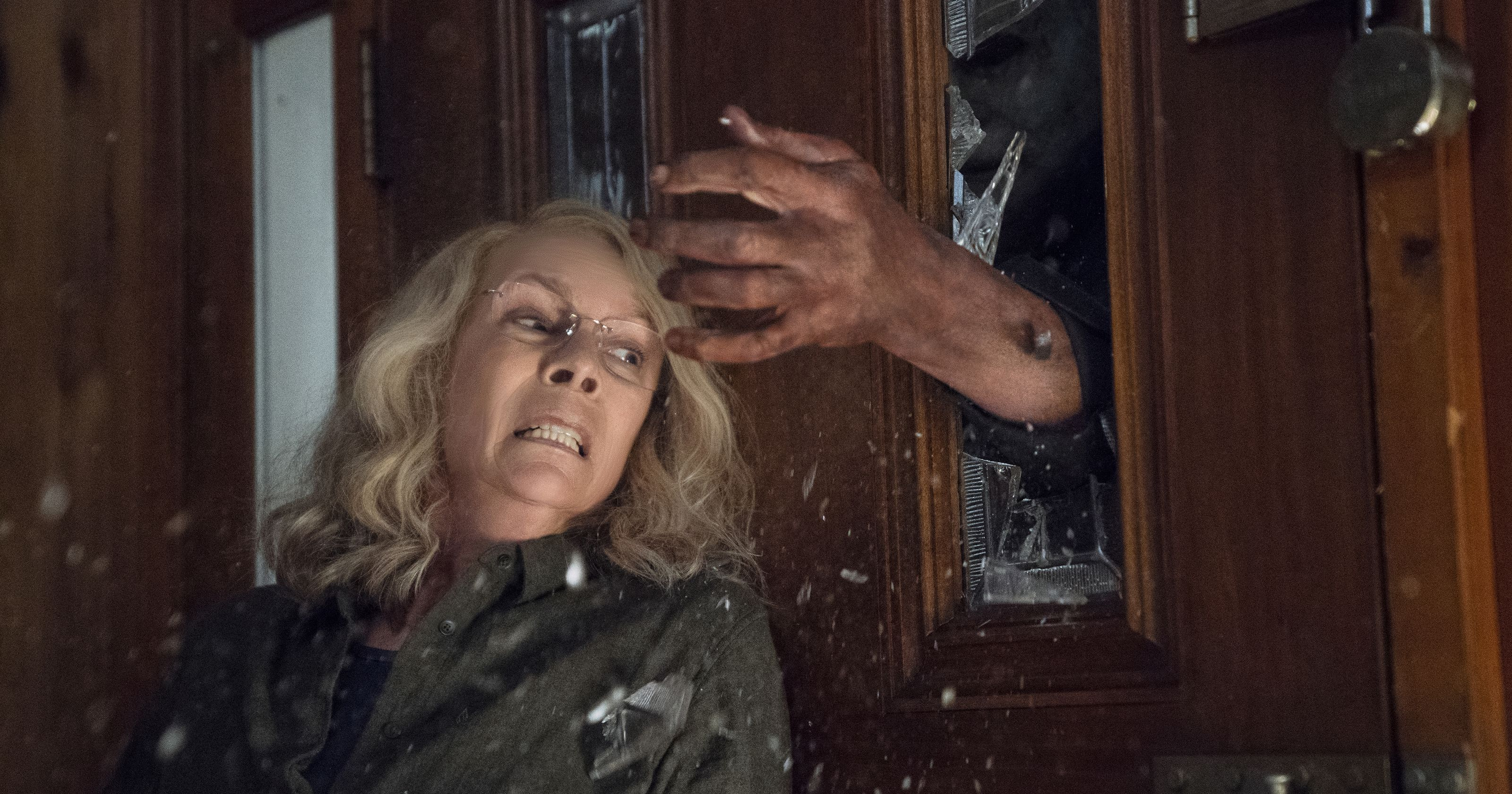Laurie Strode (Jamie Lee Curtis) in 2018's Halloween