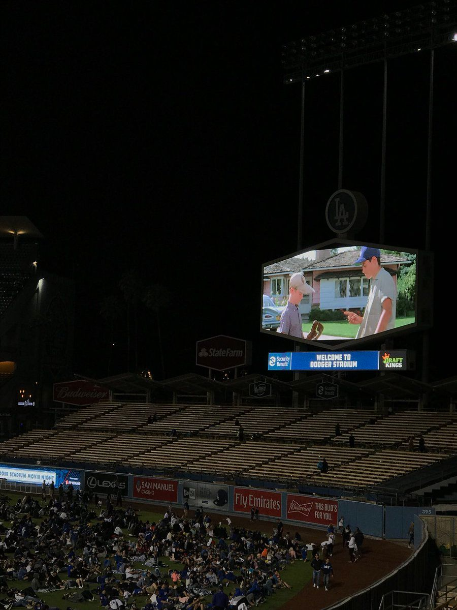 The Sandlot Dodgers Stadium