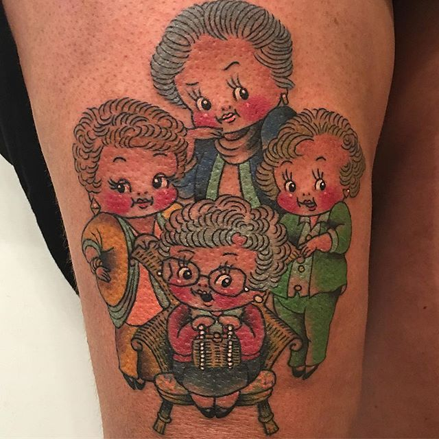 Golden Girls Tattoos