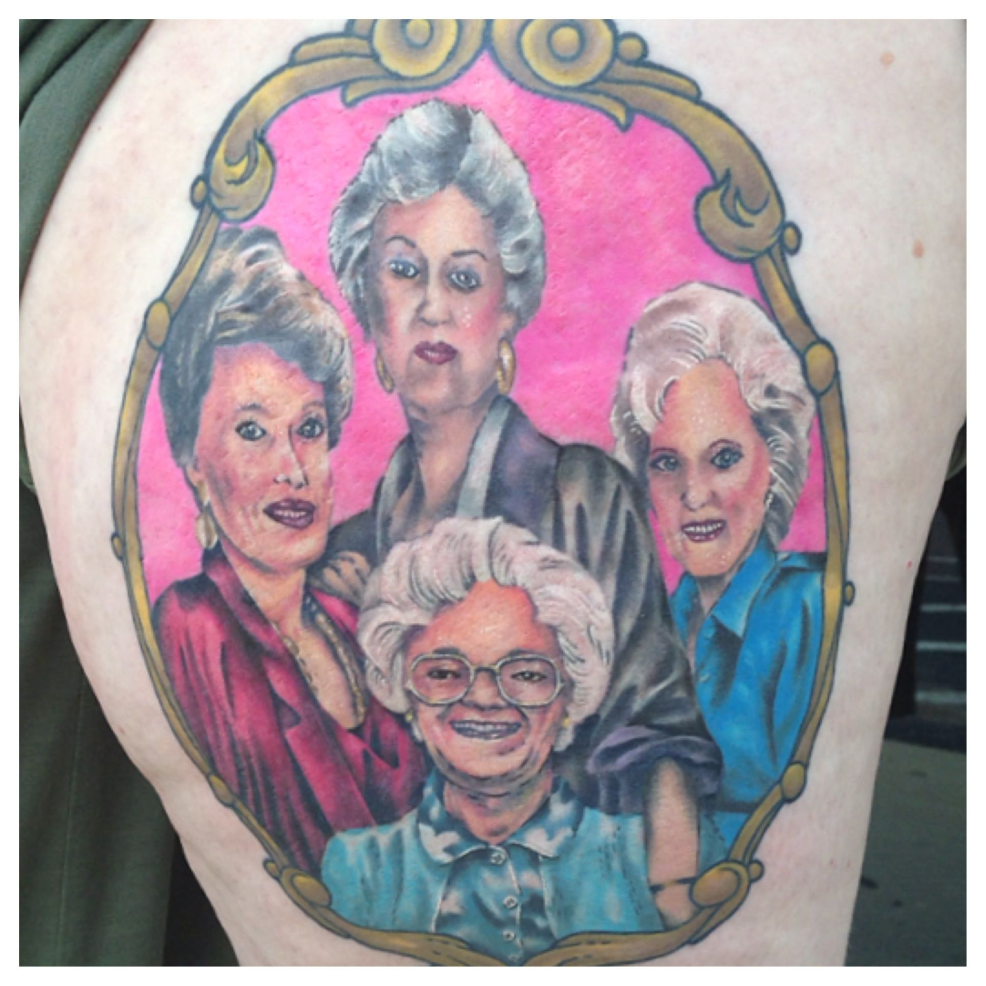 Golden Girls Tattoo