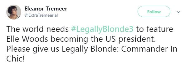 Legally Blonde Tweets