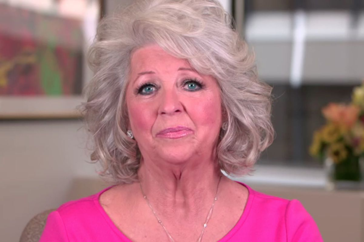 Paula Deen looking sad